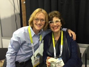 Karen Lightman and Carolyn Maue at the 2016 Consumer Electronics Show